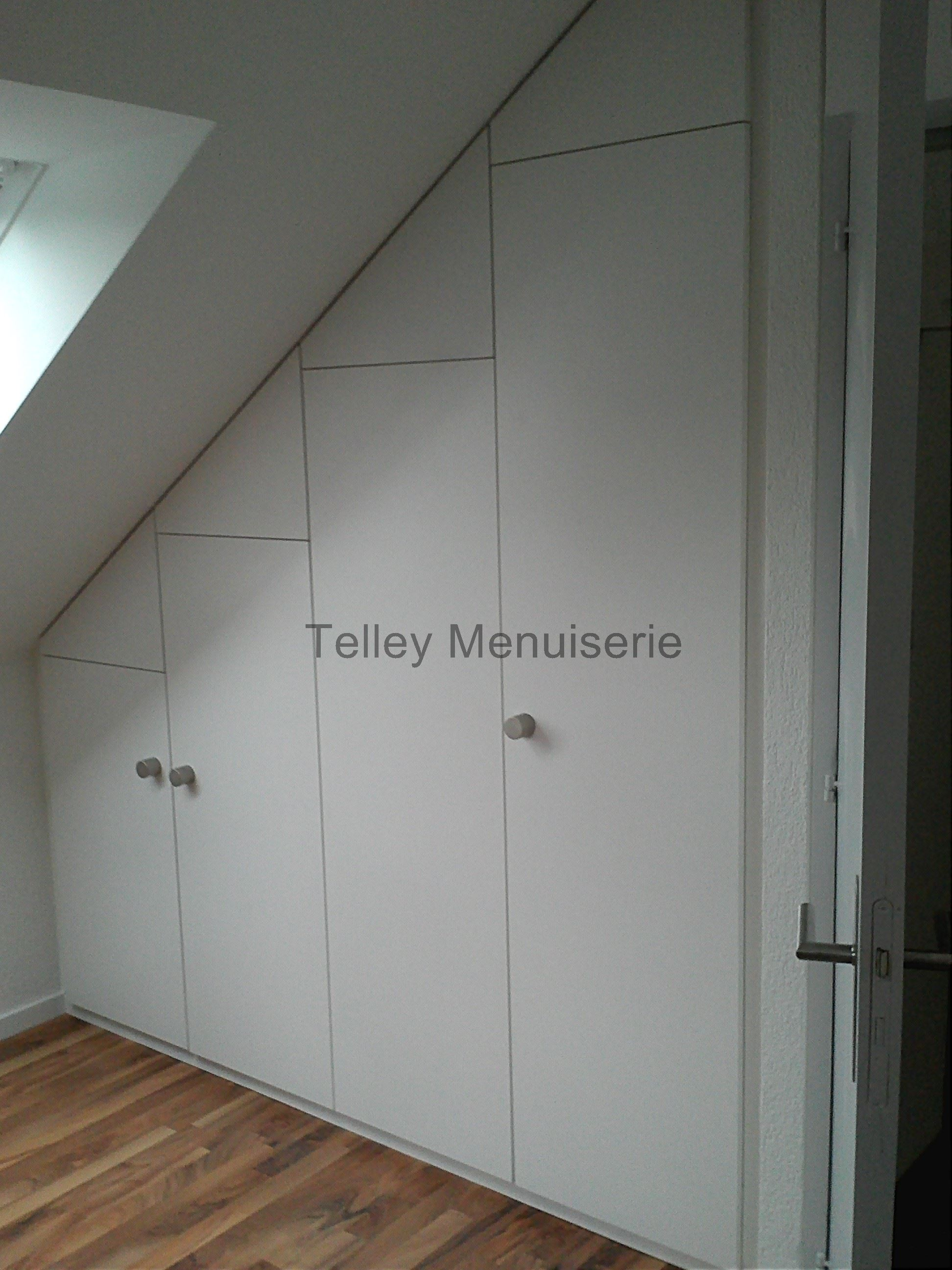 agencement int rieure armoire dressing sur mesure telley. Black Bedroom Furniture Sets. Home Design Ideas