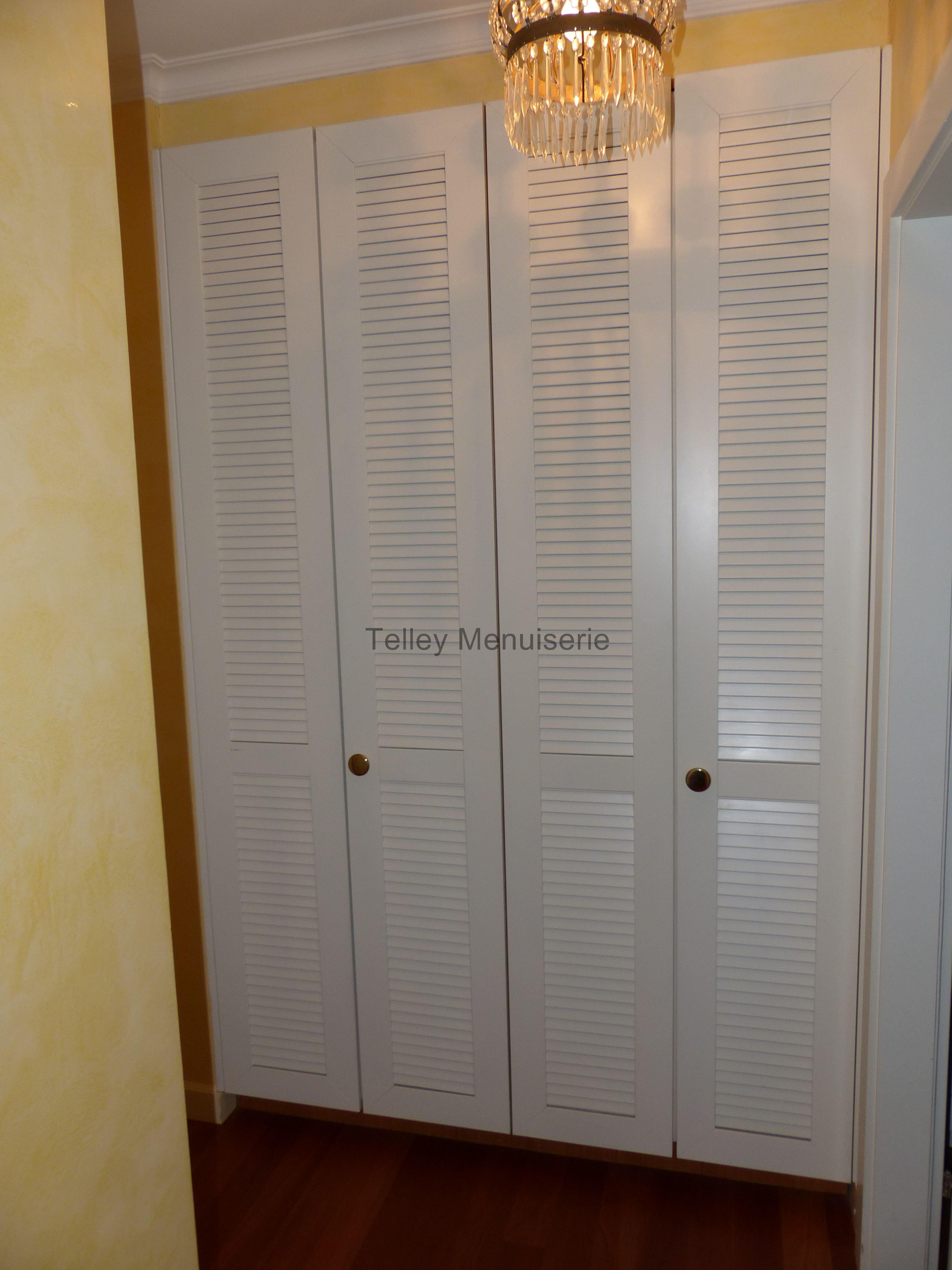Agencement int rieure armoire dressing sur mesure telley 107 menuiserie telley - Armoire sur mesure suisse ...
