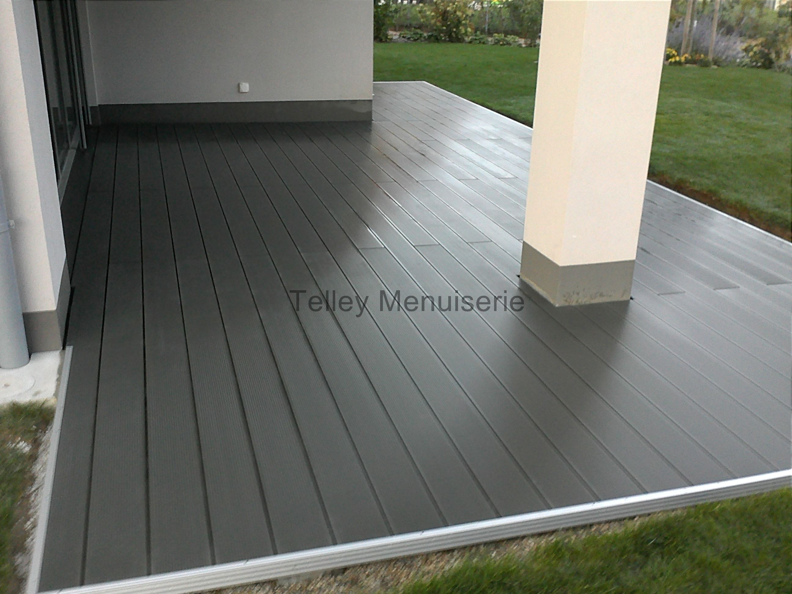 Plancher terrasse am nagement ext rieur menuiserie telley for Plancher exterieur